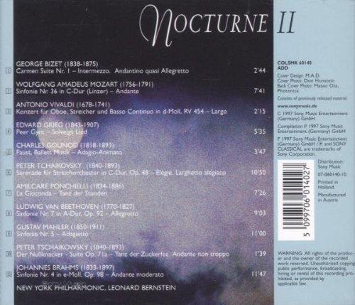 Bild 2: Leonard Bernstein, Nocturne 2 (1997, & New York Philharmonic)