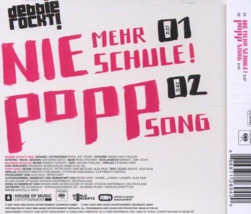 Bild 2: Debbie Rockt!, Nie mehr Schule! (2007; 2 tracks)