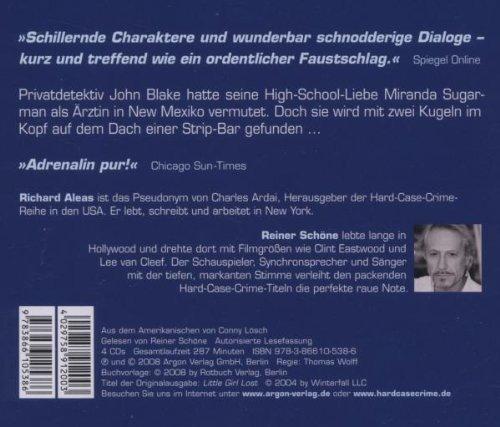 Bild 2: Richard Aleas, Tod einer Stripperin (2008, Leser: Reiner Schöne)