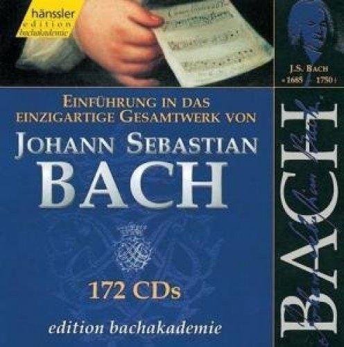 Bild 1: Bach, Einführung in das einzigartige Gesamtwerk (Hänssler, 2000) (Helmuth Rilling)