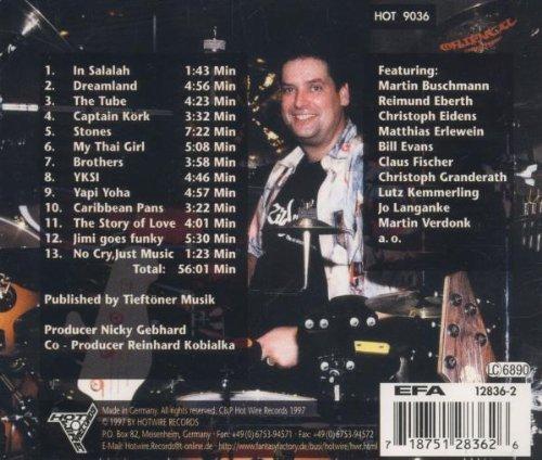 Image 2: Nicky Gebhard, No cry, just music (1997, & Gee Fresh)
