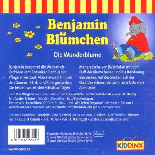 Bild 2: Benjamin Blümchen, Die Wunderblume