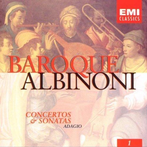 Bild 1: Albinoni, Concertos & sonatas/Adagio (EMI, 1995) (Xavier Darasse, Maurice André, Orch. de Chambre 'Antiqua Musica'/Roussel..)