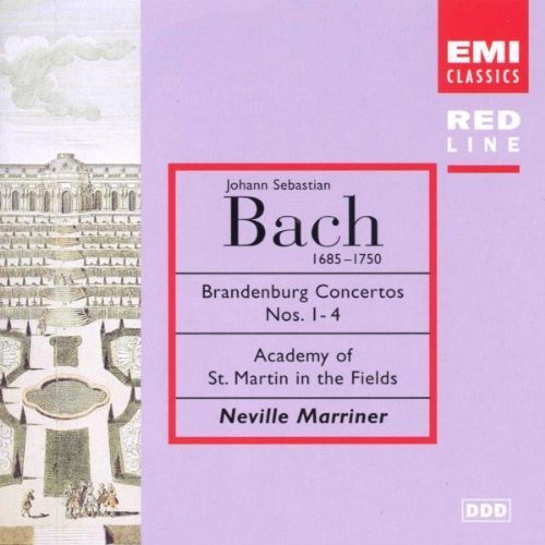 Bild 1: Bach, Brandenburgische Konzerte Nr. 1-4 (EMI, 1987/97) (Academy of St. Martin-in-the-Fields/Marriner)