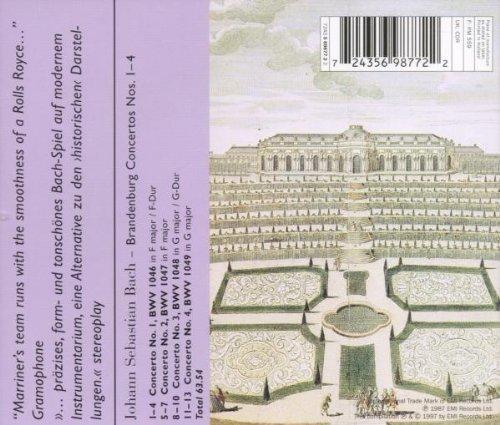 Bild 2: Bach, Brandenburgische Konzerte Nr. 1-4 (EMI, 1987/97) (Academy of St. Martin-in-the-Fields/Marriner)