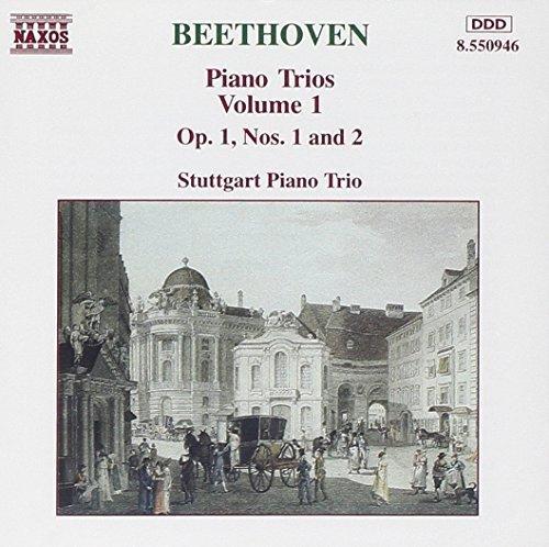 Bild 1: Beethoven, Piano trios 1: op. 1, Nr. 1/Nr. 2 (Naxos, 1994) (Stuttgart Piano Trio)