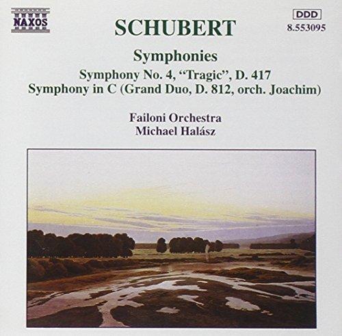 Bild 1: Schubert, Sinfonie Nr. 4, D 417 'Tragische'/Sinfonie in c (Naxos, 1994) (Failoni Orch./Halász)