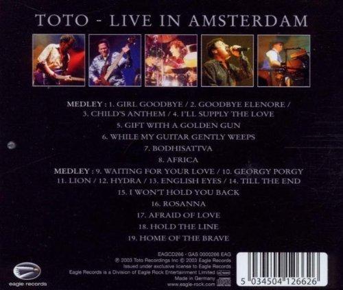 Bild 2: Toto, Live in Amsterdam (25th anniversary, 2003)