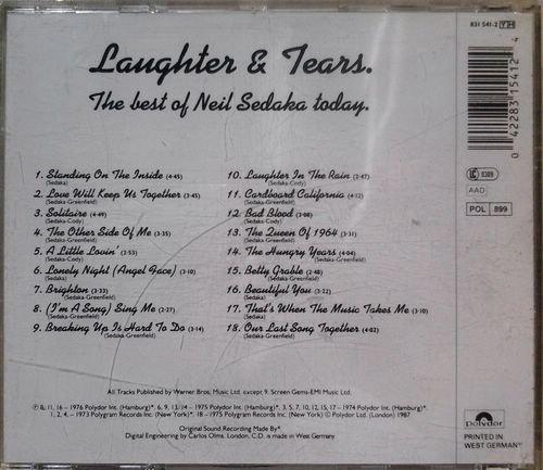 Bild 2: Neil Sedaka, Laughter & tears-The best of Neil Sedaka today (1973-76/87)