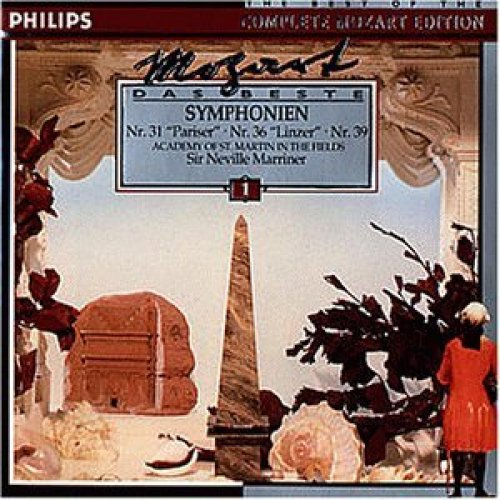 Bild 1: Mozart, Das Beste 01: Sinfonien, Nr. 31, 36, 39 (Philips, 1979) Academy of St Martin in the Fields/Marriner