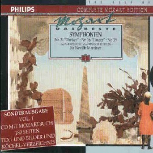 Bild 2: Mozart, Das Beste 01: Sinfonien, Nr. 31, 36, 39 (Philips, 1979) Academy of St Martin in the Fields/Marriner