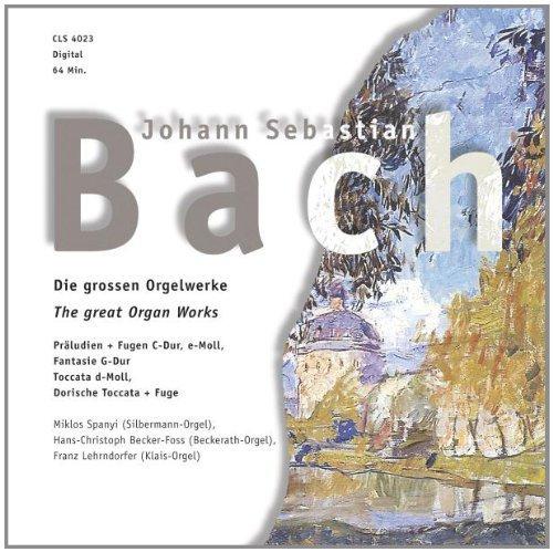 Bild 1: Bach, Die großen Orgelwerke (Zyx) (Otto Winter [Silbermann-Orgel], Hans-Christoph Becker-Foss [Beckerath-Orgel]..)