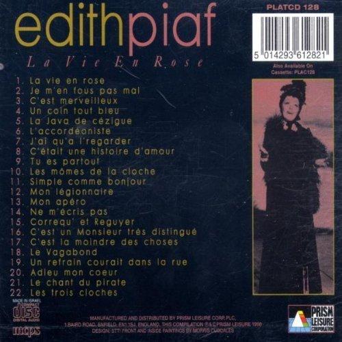 Bild 2: Edith Piaf, La vie en rose (compilation, 22 tracks, 1998)