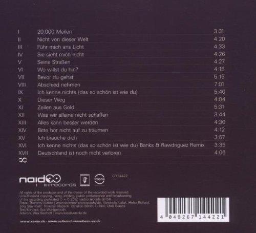 Bild 2: Xavier Naidoo, Danke fürs Zuhören-Liedersammlung 1998-2012 (digi)