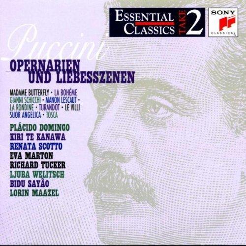 Bild 1: Puccini, Opernarien und Liebesszenen (Sony, 1948-90/97) Plácido Domingo, Kiri Te Kanawa, Renata Scotto, Lorin Maazel..