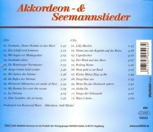 Bild 2: Andi Häckel, Akkordeon- & Seemannslieder (2006)