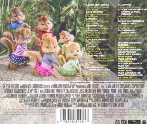 Bild 2: Alvin and the Chipmunks-Chipwrecked (2011), Chipmunks, Basko, Rae, Queensberry..
