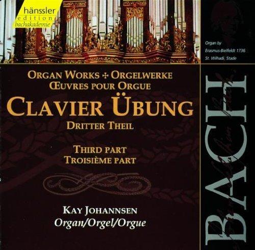 Bild 1: Bach, Clavier-Übung 3. Teil (Hänssler, 1999) Kay Johannsen