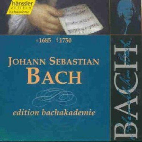 Bild 1: Bach, Edition Bachakademie (Hänssler, 1998) Gächinger Kantorei, Bach-Collegium Stuttgart/Rilling, Jean-Claude Gérard..