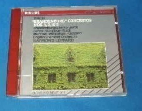Bild 1: Bach, Brandenburg concertos Nos. 1, 2 & 3 (Philips, 1975) English Chamber Orch./Leppard, David Munrow, Neil Black..