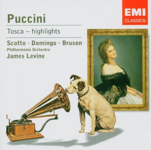 Bild 1: Puccini, Tosca-Highlights (EMI, 1981/2005) Philharmonia Orch./Levine, Renata Scotto, Placido Domingo..
