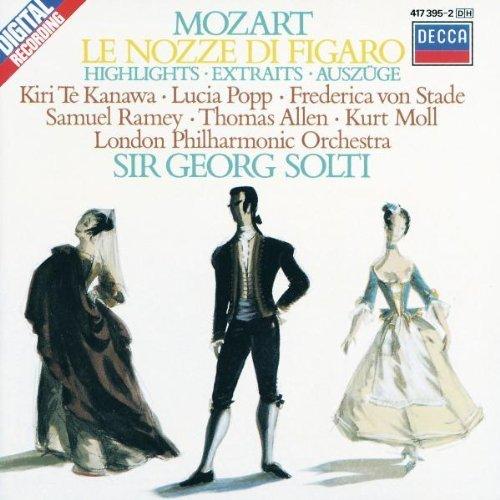 Bild 1: Mozart, Le nozze di Figaro-Highlights (Decca, 1982) LPO/Solti, Kiri Te Kanawa, Lucia Popp, Frederica von Stade..