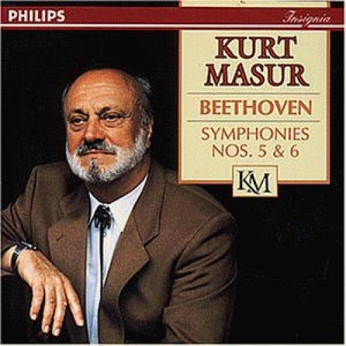 Фото 1: Beethoven, Symphonies nos. 5 & 6, opp. 67, 68 'Pastorale' (Philips, 1972/73/92) Gewandhausorch. Leipzig/Masur