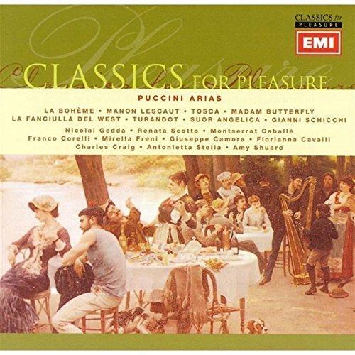 Bild 1: Puccini, Arias (EMI, 1957-80/90) Nicolai Gedda, Renata Scotto, Montserrat Caballé, Franco Corelli..