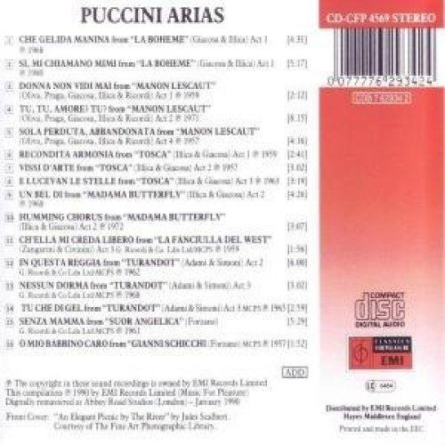 Bild 2: Puccini, Arias (EMI, 1957-80/90) Nicolai Gedda, Renata Scotto, Montserrat Caballé, Franco Corelli..