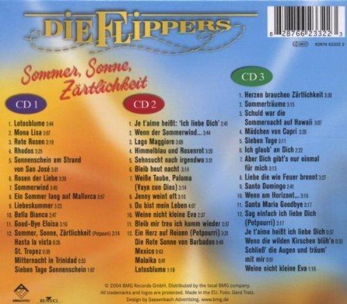 Bild 2: Flippers, Sommer, Sonne, Zärtlichkeit (2004, BMG/AE)