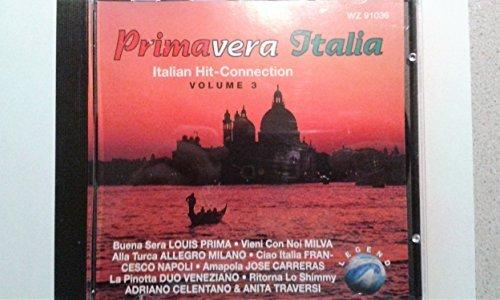Bild 1: Primavera Italia 3: Italian Hit-Connection (1994), Louis Prima, Adriano Celentano & A. Traversi, Allegro Milano, Vittorio Florenzo..