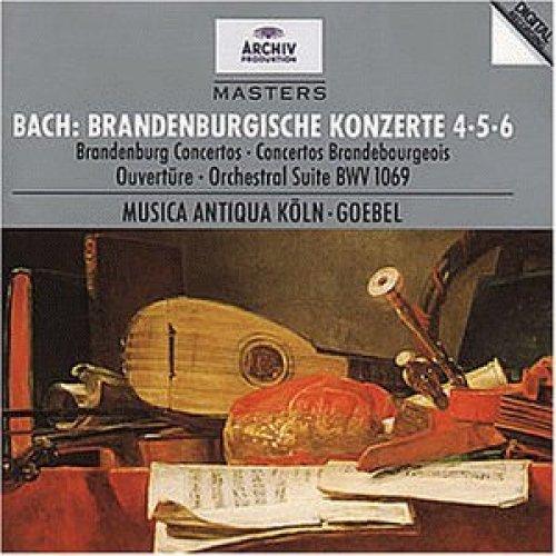 Bild 1: Bach, Brandenburgische Konzerte Nr. 4, 5, 6 (Archiv, 1986/87) Musica Antiqua Köln/Goebel