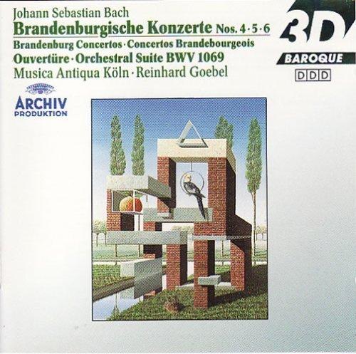 Bild 2: Bach, Brandenburgische Konzerte Nr. 4, 5, 6 (Archiv, 1986/87) Musica Antiqua Köln/Goebel