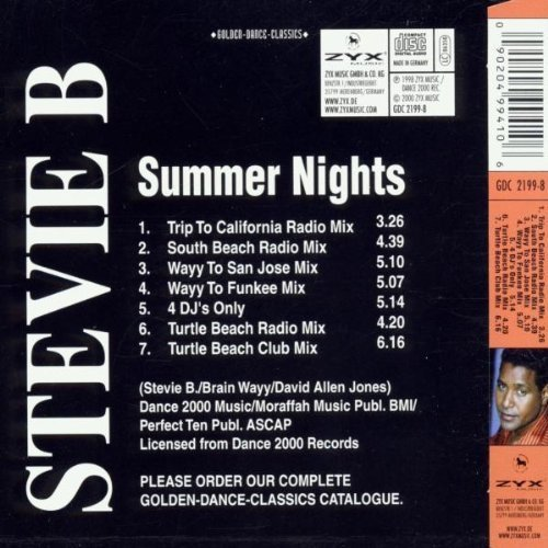 Bild 2: Stevie B., Summer nights (golden-dance-classics)