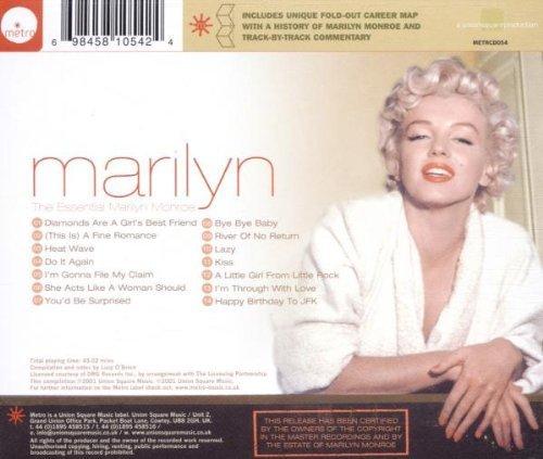 Bild 2: Marilyn Monroe, Marilyn-The essential (2001)