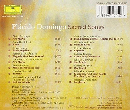 Bild 2: Plácido Domingo, Sacred songs (2002, DG)