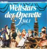 Weltstars der Operette 1 (Teldec, 1974/87), Anna Moffo, Reinhold Bartel, Herta Staal, Heinz Hoppe..