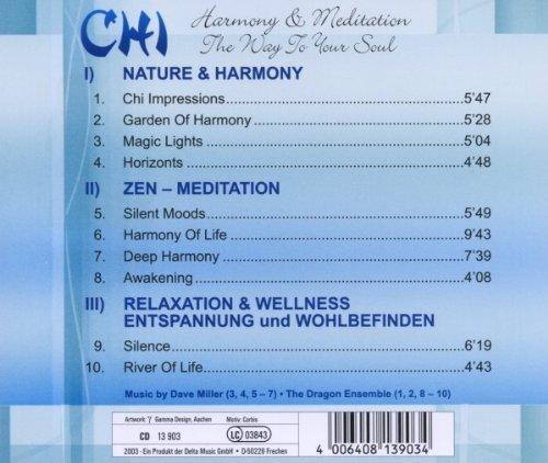 Bild 2: Dave Miller, Chi-Harmony & meditation (2003, & Dragon Ensemble)