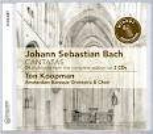 Bild 1: Bach, Cantates-24 hoogtepunten uit de complete editie (Challenge, 2008) Amsterdam Baroque Orch. & Choir/Koopman