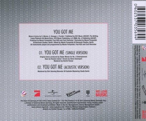 Bild 2: Ivy Quainoo, You got me (2012; 2 tracks)