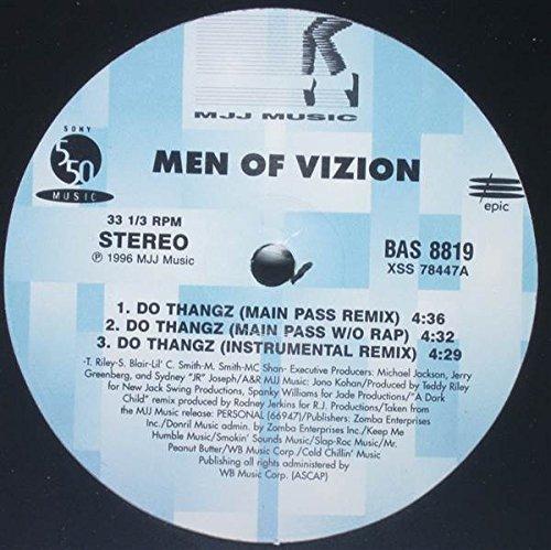 Bild 2: Men of Vizion, Do thangz (US, Main Pass Remix, 6 versions, 1996)