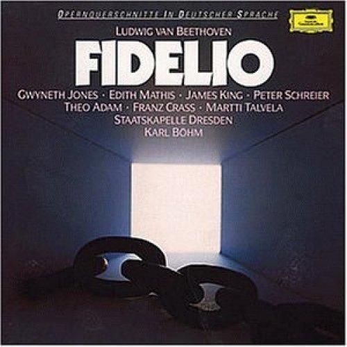 Bild 1: Beethoven, Fidelio-Querschnitt in German (DG, 1969) Staatskapelle Dresden/Böhm, Gwyneth Jones, James King..