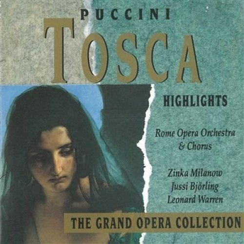 Bild 1: Puccini, Tosca-Highlights (Symphony, 1992) Rome Opera Orch. & Chorus/Leinsdorf, Zinka Milanow, Jussi Björling..