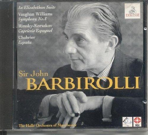 Bild 1: Sir John Barbirolli, Byrd, Farnaby, Bull, Vaughan Williams.. (Ermitage, 1961/96, & Hallé Orch. of Manchester)