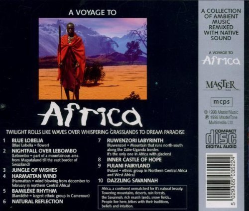 Bild 2: A Voyage to Africa (1998), Ambient music remixed with native sound