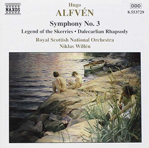 Bild 1: Alfven, Hugo, Symphony no. 3/Legend of the skerries/Dalecarlian rhapsody (Naxos, 1996) Royal Scottish National Orch./Willén