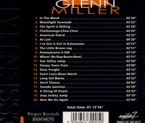 Bild 2: Glenn Miller, Essential masters of jazz (1998, Proper)