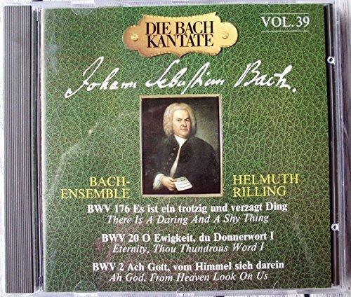 Bild 1: Bach, Kantate, BWV 176, 20, 2 (Hänssler, 1970-81/91) Bach-Ensemble Helmuth Rilling