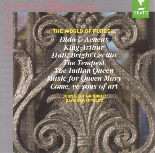 Bild 1: Purcell, World of: Dido & Arneas/King Arthur.. (Erato, 1977-85/96) John Eliot Gardiner, Raymond Leppard