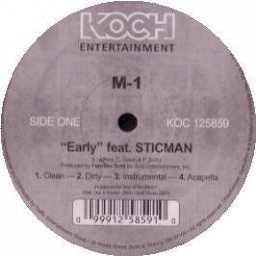 Bild 1: M-1, Early (feat. Sticman, 2006)